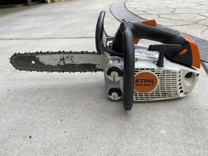 Stihl ms193 arborist top handle chainsaw for Sale in Lakeside, CA