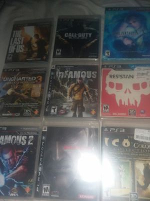 9 Barely Used PS3 Games for Sale in Manassas, VA