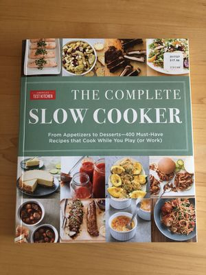 Slow Cooker Cook Book for Sale in Leesburg, VA