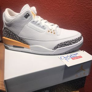 Jordan 3 Laser Orange 8w DS for Sale in Woodside, CA