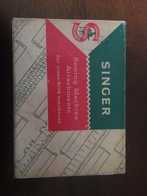 Singer sewing machine attachments vintage for Sale in Columbus, OH