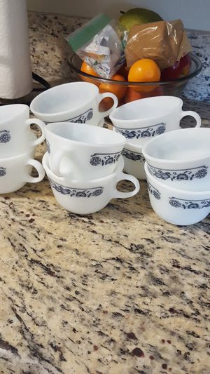 Vintage Pyrex cups for Sale in Madera, CA