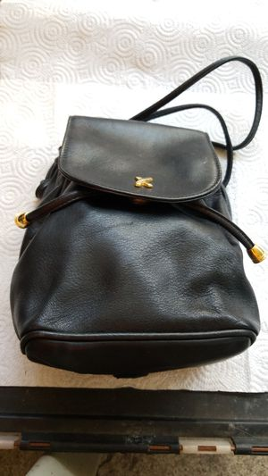 Paloma Picasso mini black leather backpack for Sale in IL, US