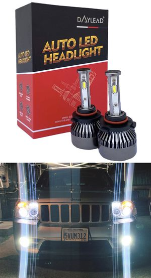 4 sided LED headlights CSP super bright lights top quality 1 year warranty for Sale in Los Angeles, CA