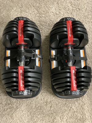 Bowflex SelectTech 552 Adjustable Dumbbells. Brand new unopened box. for Sale in Kent, WA
