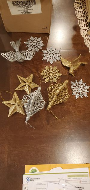 Christmas tree ornaments for Sale in Springfield, VA