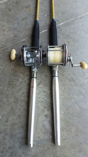 Penn Senator reels and Aftco rods for Sale in Port St. Lucie, FL