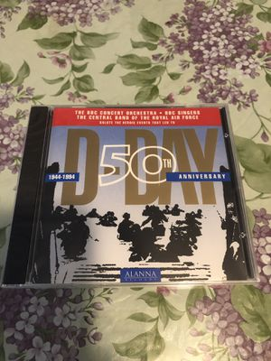 New d day 50th anniversary cd. The bbc concert orchestra. BBC singers. The central band of the Royal Air Force. for Sale in Mechanicsburg, PA