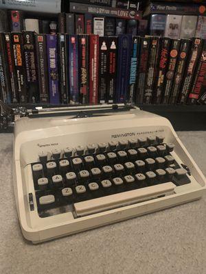 RARE White Remington Portable Typewriter for Sale in Farmingdale, NY