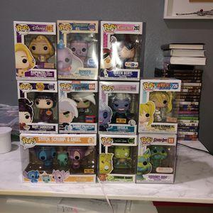 Funko Pops (disney, Sailor Moon, Scooby Doo) for Sale in Henderson, NV