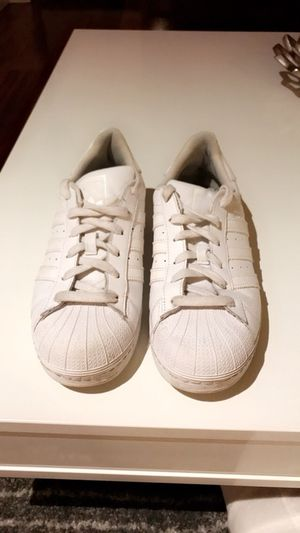 White adidas (Superstar) for Sale in Boston, MA