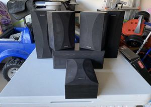 Onkyo seven speaker surround sound stereo speakers for Sale in Phoenix, AZ