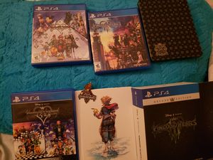 Kingdom hearts collection for Sale in Las Vegas, NV