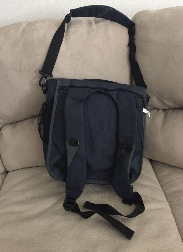 Kensington Navy Blue Laptop Bag/backpack