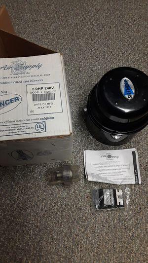 Hot tub, spa Silencer Air Blower. Model # 6320220F 2.0 HP 240V. for Sale in Virginia Beach, VA