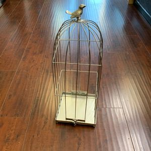 "Metal Bird Cage Bottom Opened 22"" Never Been Used for Sale in Encinitas, CA"