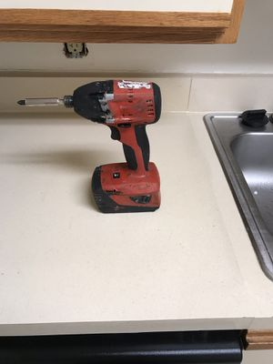 Hilti Drill end battery no charger 18v in good condition for Sale in Beltsville, MD