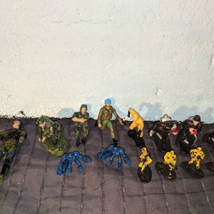 Miniature Action Figures Lot Firemen Military Unimax More for Sale in Tigard, OR