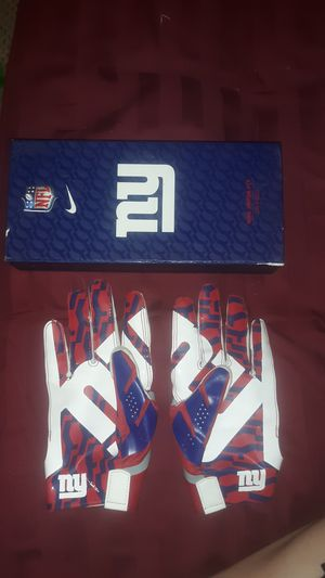 New York giants football gloves for Sale in Moses Lake, WA