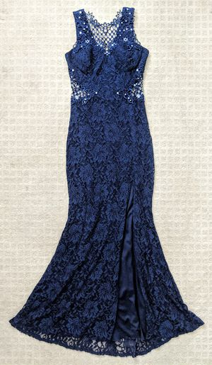 Blue long prom dress / evening gown for Sale in Westminster, CA