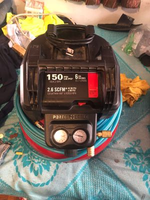 Porter Cable C2002 6 Gallon Air Compressor for Sale in Hyattsville, MD