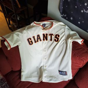Used Majestic Giants Jersey (No Player Number) for Sale in San Diego, CA
