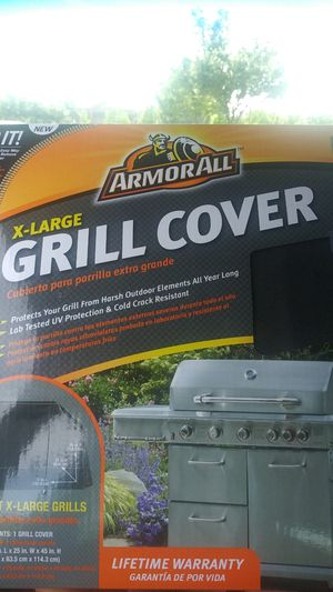 Armorall grill cover extra large for Sale in Stockton, CA