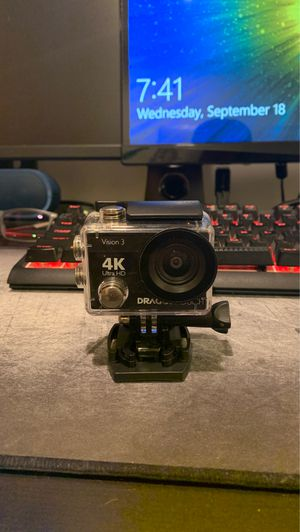 Dragon Touch 4K HD Dashcam/ Action Cam for Sale in Brooklyn, NY