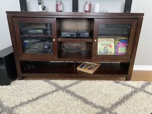 Cherry wood tv stand for Sale in Rye, NY