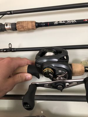 Shimano rod reel combo for Sale in Hampton, VA