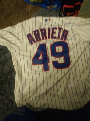 Cubs baseball jersey 49 ARRIETA for Sale in Garfield Heights, OH
