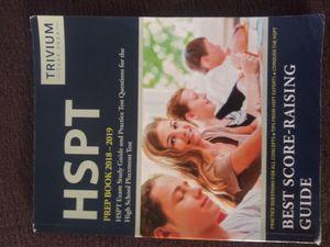 HSPT Prep book 2018-19. Trivium test prep for Sale in West Covina, CA