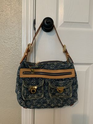 Louis Vuitton Neo Speedy Denim Bag for Sale in Bothell, WA