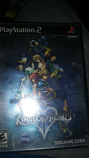 Kingdom hearts ps2 collecters for Sale in Orlando, FL
