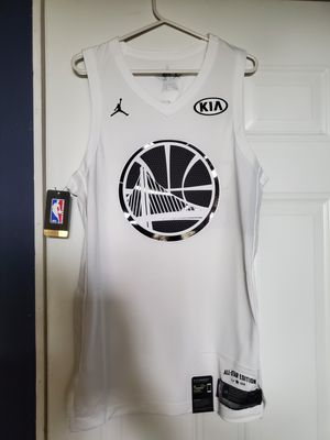 NWT Jordan NBA Authentic ALL STAR GSW Kevin Durant #35 Jersey Sz 48 (L) for Sale in Huntington Park, CA