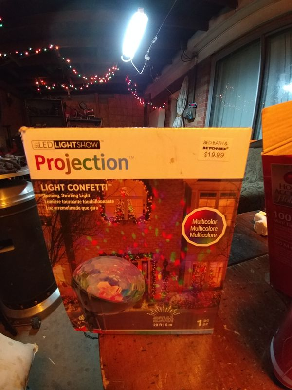 2 LED LIGHT SHOW PROJECTION