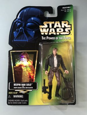 Star Wars Power of The Force Green Card Bespin Han Solo Action Figure for Sale in Los Angeles, CA