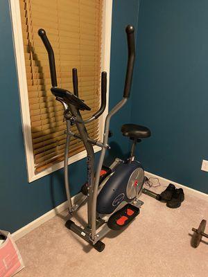 Exercise Bike elliptical 2 in 1 cardio for Sale in Windsor Locks, CT