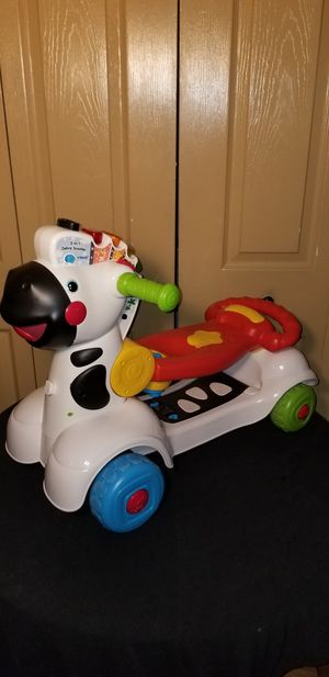 VTech three-in-one scooter Walker right on developmental toy for toddlers to big kids for Sale in Pompano Beach, FL