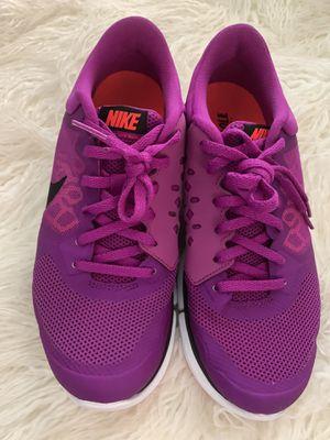 Womens NIKE Flex 2015 RUN 709021-501 Purple Running Workout Walking Shoe Sz 8 for Sale in Inglewood, CA
