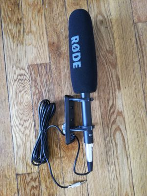 Camera /Boom mic (Rode NTG4+) for Sale in Waltham, MA