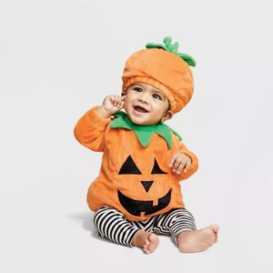 Baby Pullover Pumpkin Costume with Hat - Hyde & EEK! Boutique for Sale in Duluth, GA