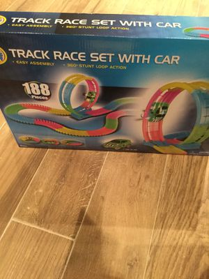 Used, Magic Track race set with car for Sale for sale  Queens, NY