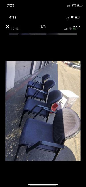 4 chair for Sale in San Diego, CA