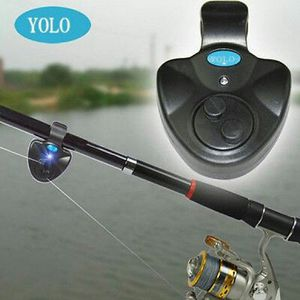 YOLO Electronic LED Light Fish Bite Alarm Bell Finder Sound Alert Clip for Sale in Nashville, TN