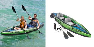 New Sealed K2 Challenger 2 Person Tandem Kayak w 2 paddles and pump for Sale in Castro Valley, CA