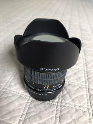 Samyang SY14M-C 14mm f/2.8 MF UMC IF ASP ED Lens for Canon for Sale in Indian Rocks Beach, FL