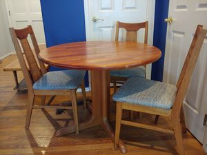 Mid century teak dining set for Sale in Bothell, WA