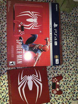 PS4 Pro Spider-Man Edition 1TB for Sale in Montebello, CA