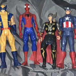 Marvel action figures / Juguetes de Marvel for Sale in Fort Worth, TX